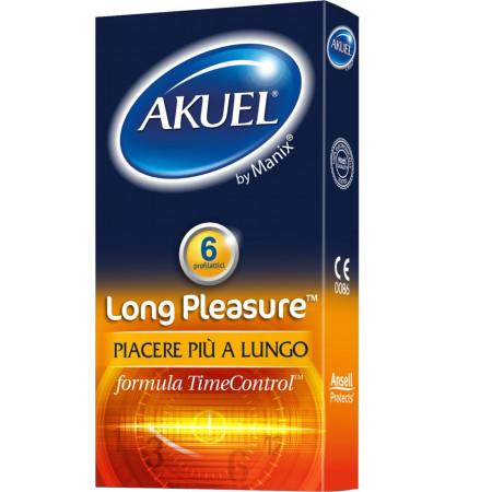 Preservativi akuel long pleasure